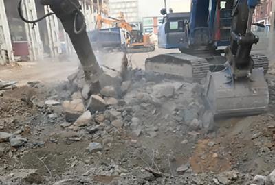 BELFORT TOUS TRAVAUX démolition